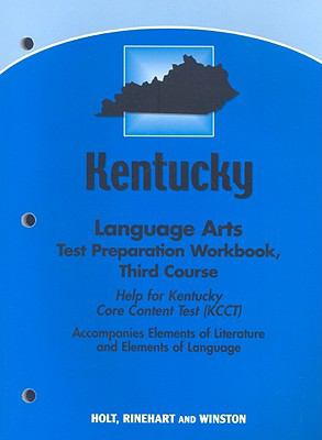 Kentucky Language Arts Test Preparation Workbook, Third Course