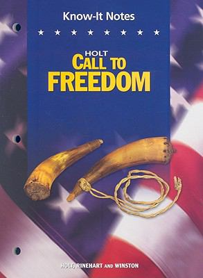 Know-It Notes Holt Call to Freedom