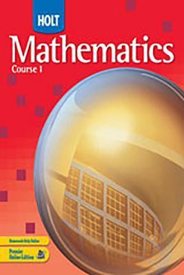 Know-It Ntbk T/G V1-2 Hlt Math C1 2007