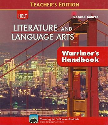 Literature and Language Arts 2nd Course