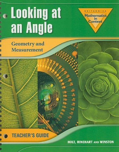 Looking at an Angle: Geometry and Measurement