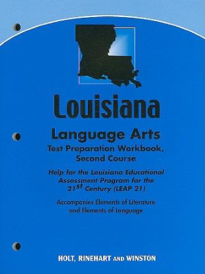 Louisiana Language Arts Test Preparation Workbook, Second Course