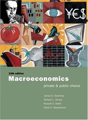 Macroeconomics: Private and Public Choice with Xtra! CD-ROM and Infotrac College Edition