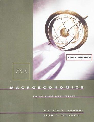 Macroeconomics: Principles and Policy