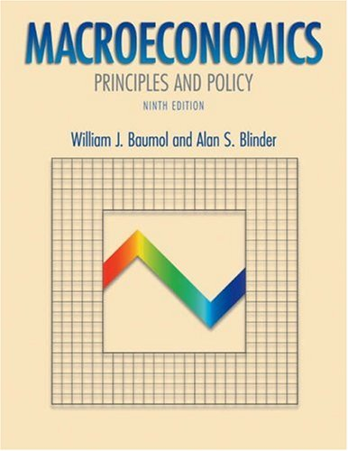 Macroeconomics: Principles and Policy with Xtra! Student CD-ROM and Infotrac College Edition