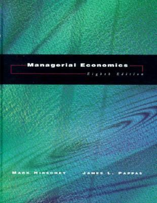 Managerial Economics [With Disk]