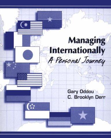 Managing Internationally: A Personal Journey