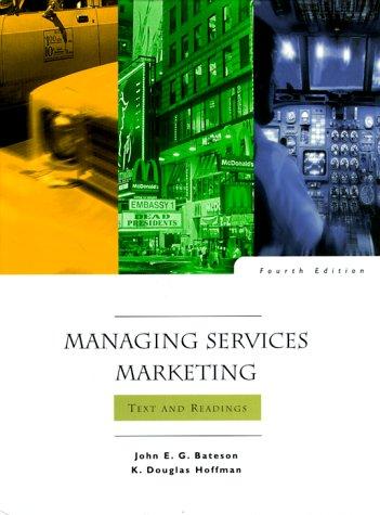 Managing Services Marketing