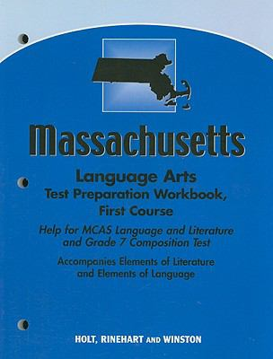 Massachusetts Language Arts Test Preparation Workbook, First Course