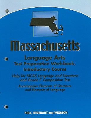 Massachusetts Language Arts Test Preparation Workbook, Introductory Course