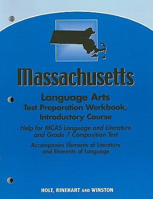 Massachusetts Language Arts Test Preparation Workbook, Introductory Course
