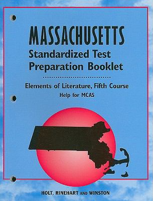 Massachusetts Standardized Test Preparation Booklet, Fifth Course