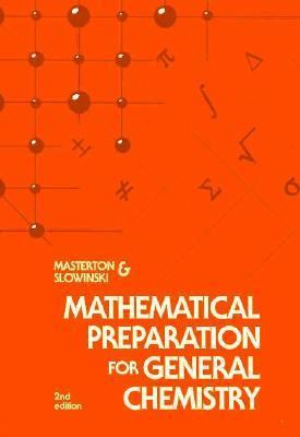 Mathematical Preparation for General Chemistry