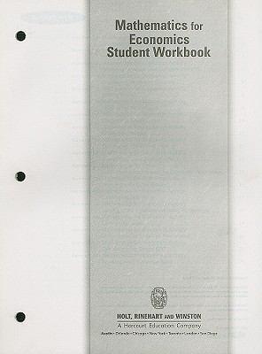 Mathematics for Economics Student Workbook