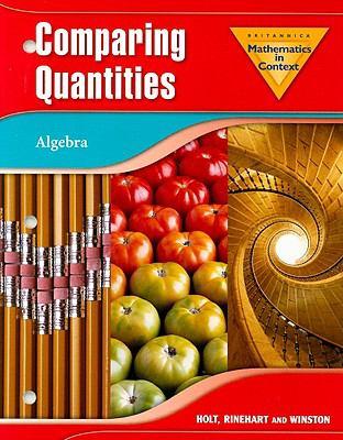 Mathematics in Context: Comparing Quantities: Algebra