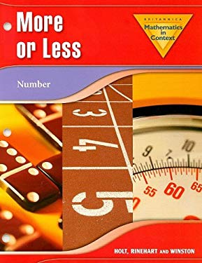 Mathematics in Context: More or Less