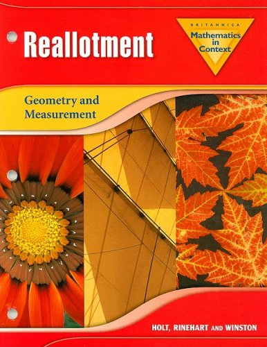 Mathematics in Context: Reallotment: Geometry and Measurement