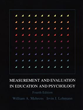 Measurement and Evaluation in Education and Psychology