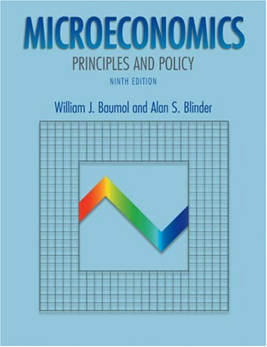 Microeconomics: Principles and Policy with Xtra! Student CD-ROM and Infotrac College Edition
