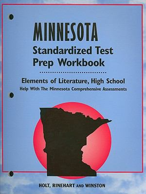 Minnesota Elements of Literature Standardized Test Prep Workbook, High School: Help with the Minnesota Comprehensive Assessments