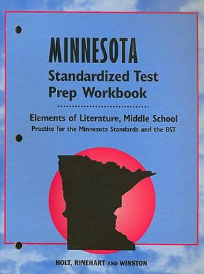Minnesota Elements of Literature Standardized Test Prep Workbook, Middle School: Practice for the Minnesota Standards and the BST