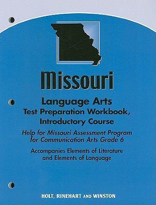 Missouri Language Arts Test Preparation Workbook, Introductory Course