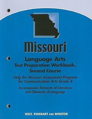 Missouri Language Arts Test Preparation Workbook, Second Course