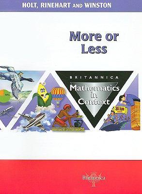 More or Less: Britannica Mathematics in Context