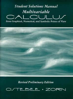 Multivariable Calculus: Solutions Manual