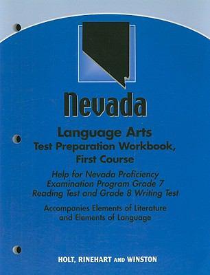 Nevada Language Arts Test Preparation Workbook, First Course: Help for Nevada Proficiency Examination Program Grade 7 Reading Test and Grade 8 Writing