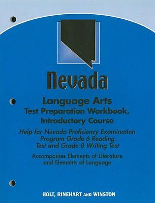 Nevada Language Arts Test Preparation Workbook, Introductory Course: Help for Nevada Proficiency Examination Program Grade 6 Reading Test and Grade 8