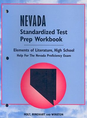 Nevada Standardized Test Prep and Workbook: Elements of Literature, High School