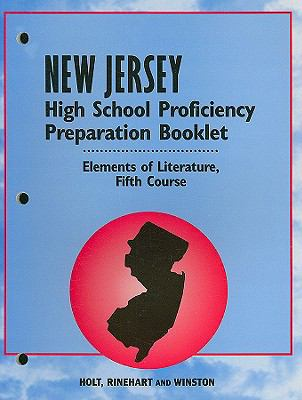 New Jersey High School Proficiency Preparation Booklet, Fifth Course