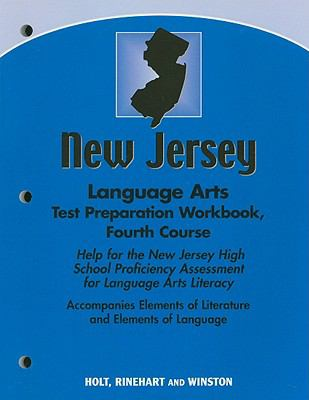New Jersey Language Arts Test Preparation Workbook, Fourth Course: Help for the New Jersey High School Proficiency Assessment for Language Arts Litera