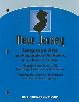New Jersey Language Arts Test Preparation Workbook, Introductory Course: Help for New Jersey ASK Language Arts Literacy Assessment