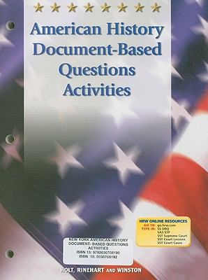 New York American History Document-Based Questions Activities
