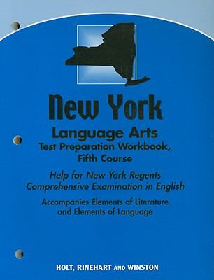 New York Language Arts Test Preparation Workbook, Fifth Course: Help for New York Regents Comprehensive Examination in English