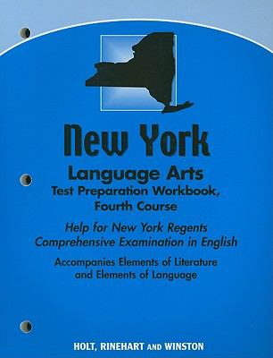 New York Language Arts Test Preparation Workbook, Fourth Course: Help for New York Regents Comprehensive Examination in English