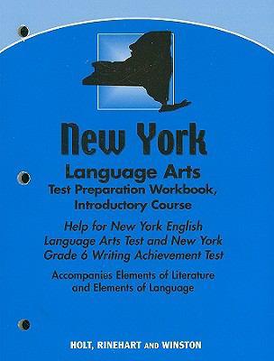 New York Language Arts Test Preparation Workbook, Introductory Course