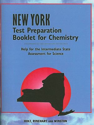 New York Test Preparation Booklet for Chemistry: Help for the Intermediate State