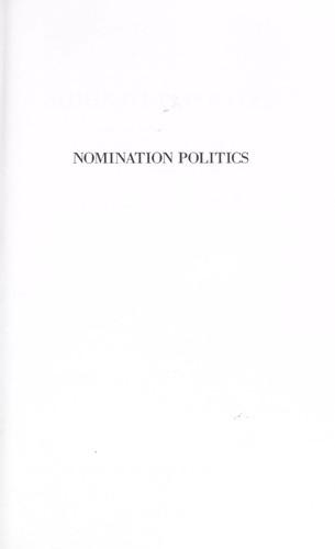 Nomination Politics