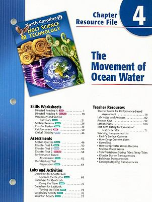 North Carolina Holt Science & Technology Chapter 4 Resource File: The Movement of Ocean Water