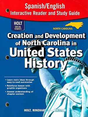 North Carolina Holt Social Studies United States History Interactive Reader and Study Guide