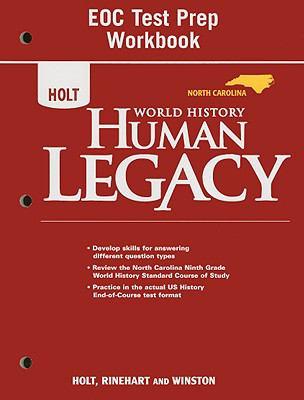 North Carolina Holt World History Human Legacy EOC Test Prep Workbook
