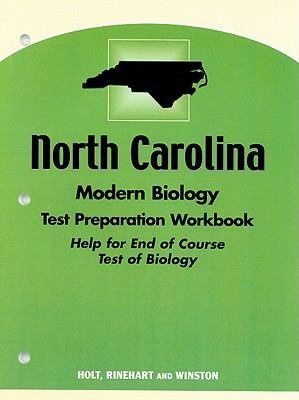 North Carolina Modern Biology Test Preparation Workbook: Help for End of Course Test of Biology