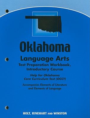Oklahoma Language Arts Test Preparation Workbook, Introductory Course: Help for Oklahoma Core Curriculum Test (OCCT)