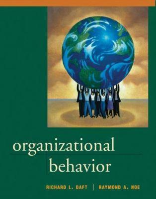 Organizational Behavior 9780030339318