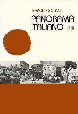 Panorama Italiano 9780030506017