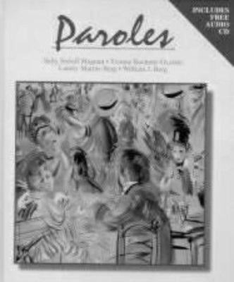 Paroles [With CD]