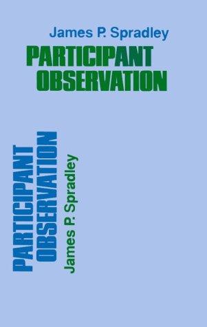 Participant Observation 9780030445019